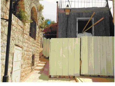 בית אונגר אחרי [צילום: יוסף עברון]
