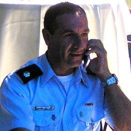 רן אופיר מפקד משטרת צפת היוצא