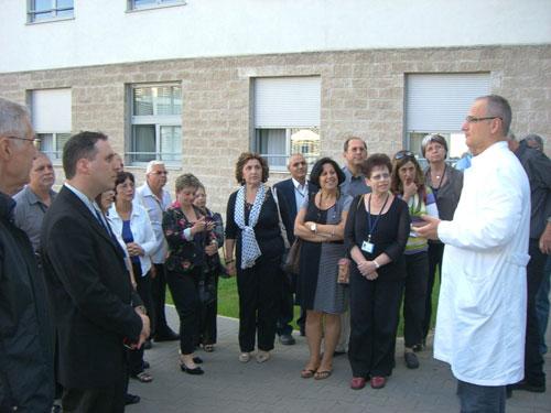 משלחת ישראל בבית חולים האוניברסיטאי בקרואטיה