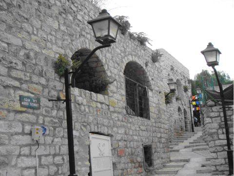 בית אונגר לפני [צילום: יוסף עברון]