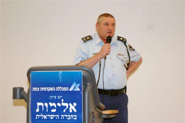 ניצב שמעון קורן (צילום: עינב לובלינר)